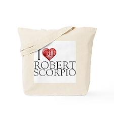 I Heart Robert Scorpio Tote Bag