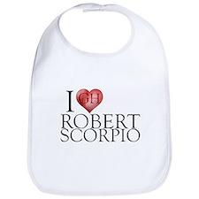 I Heart Robert Scorpio Bib