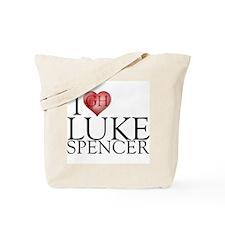 I Heart Luke Spencer Tote Bag