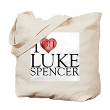 I Heart Luke Spencer Tote Bag