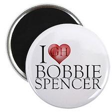 I Heart Bobbie Spencer Magnet