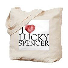 I Heart Lucky Spencer Tote Bag