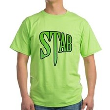 Green STAB T-Shirt (Revised)