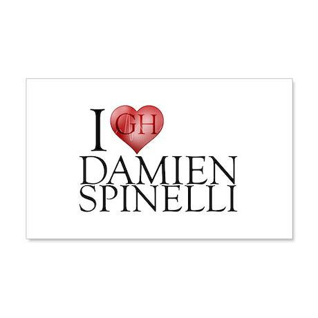 I Heart Damien Spinelli 22x14 Wall Peel
