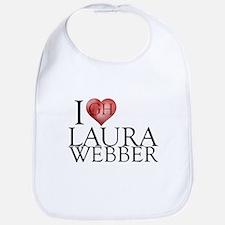 I Heart Laura Webber Bib