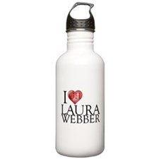 I Heart Laura Webber Stainless Water Bottle 1.0L