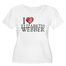 I Heart Elizabeth Webber Women's Plus Size Scoop N