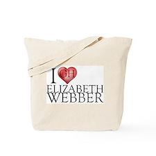 I Heart Elizabeth Webber Tote Bag