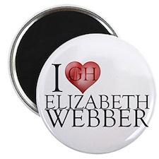 I Heart Elizabeth Webber Magnet
