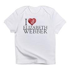 I Heart Elizabeth Webber Infant T-Shirt