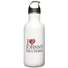 I Heart Johnny Zacchara Stainless Water Bottle 1.0