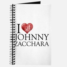 I Heart Johnny Zacchara Journal