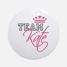 Team Kate Royal Crown Ornament (Round)
