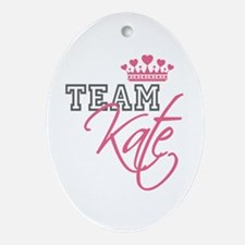 Team Kate Royal Crown Ornament (Oval)