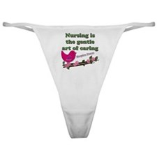 Hospice nurse Classic Thong