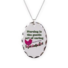 Cute Hospice nurse Necklace