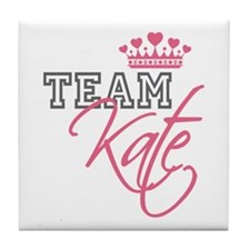 Team Kate Royal Crown Tile Coaster