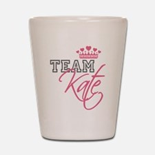 Team Kate Royal Crown Shot Glass