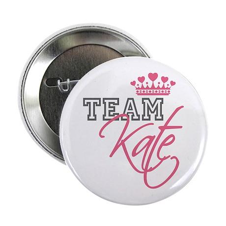 """Team Kate Royal Crown 2.25"""" Button"""