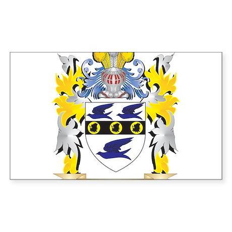 Yushmanov Family Crest - Coat of Arms Sticker
