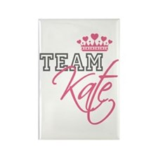 Team Kate Royal Crown Rectangle Magnet (100 pack)