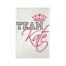 Team Kate Royal Crown Rectangle Magnet