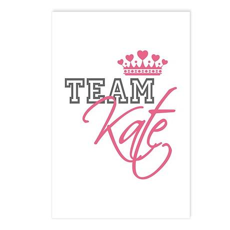 Team Kate Royal Crown Postcards (Package of 8)