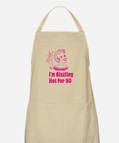Sizzling Hot for 50 Apron