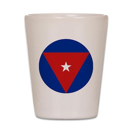 Cuba Roundel Shot Glass