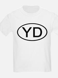 YD - Initial Oval Kids T-Shirt