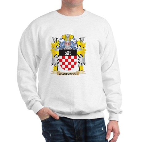 Zachariash Family Crest - Coat of Arms Sweatshirt