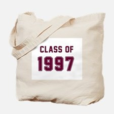 Class of 1997 Maroon Tote Bag