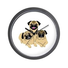 Isabelle, Madison & Lucee Wall Clock