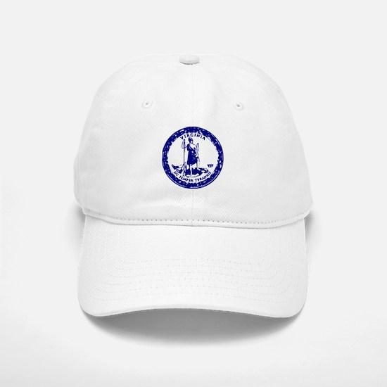 Blue Virginia Seal Baseball Baseball Cap