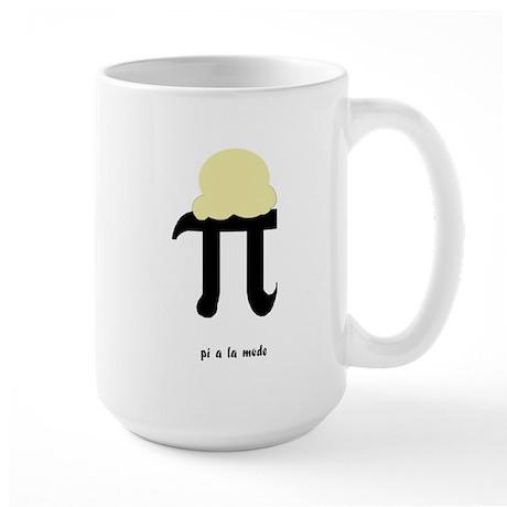 Pi a la Mode Large Mug
