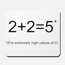2+2=5 Mousepad