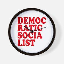 Democratic Socialist Wall Clock