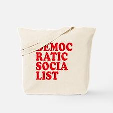 Democratic Socialist Tote Bag
