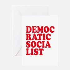 Democratic Socialist Greeting Card