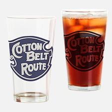 Cotton Belt Railway logo Drinking Glass