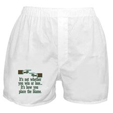It's not whether you win or l Boxer Shorts
