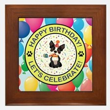 HAPPY BIRTHDAY Framed Tile