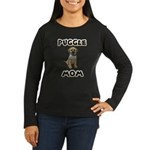 Dog Women's Dark Long Sleeve T-Shirts