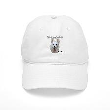 White German Shepherds Rock Baseball Cap