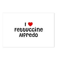I * Fettuccine Alfredo Postcards (Package of 8)