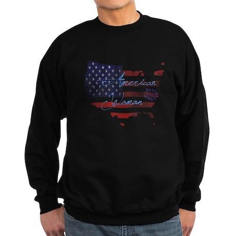 AMERICAN WOMAN Sweatshirt (dark)