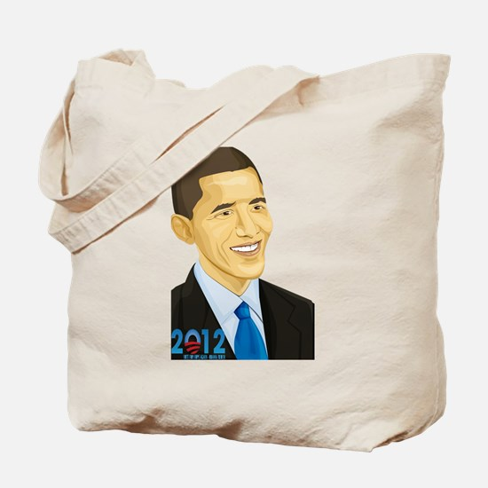 Barack Obama - 2012 Tote Bag