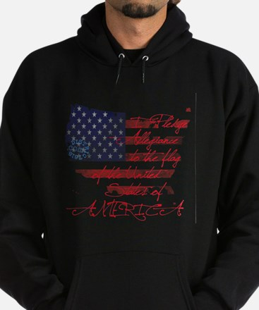 PLEDGE OF ALLEGIANCE Hoodie (dark)
