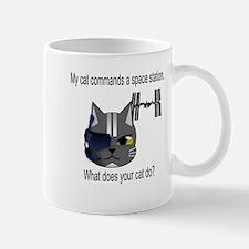 My cat commands a space stati Mug