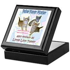 Feline Foster Mom Keepsake Box